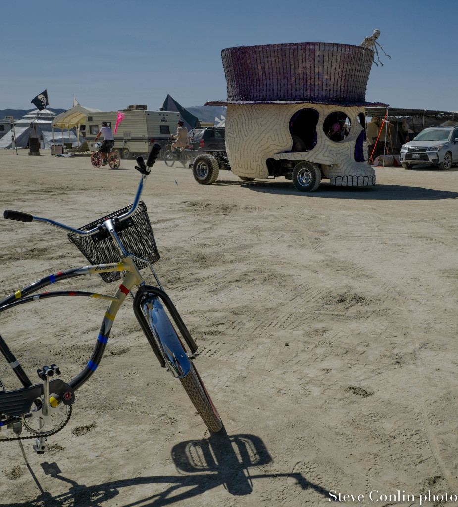 Art cars are plentiful on the playa and can be just about anything you imagine.