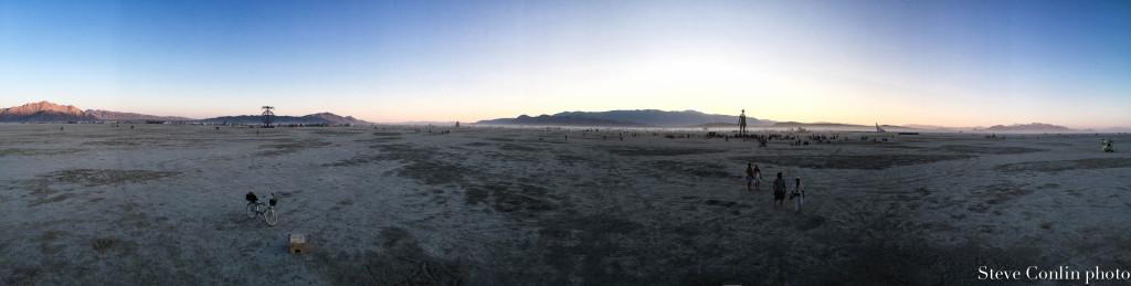 The playa.